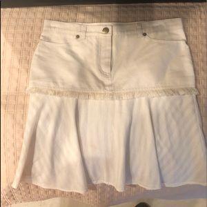 Chloe Cotton Skirt sz 36